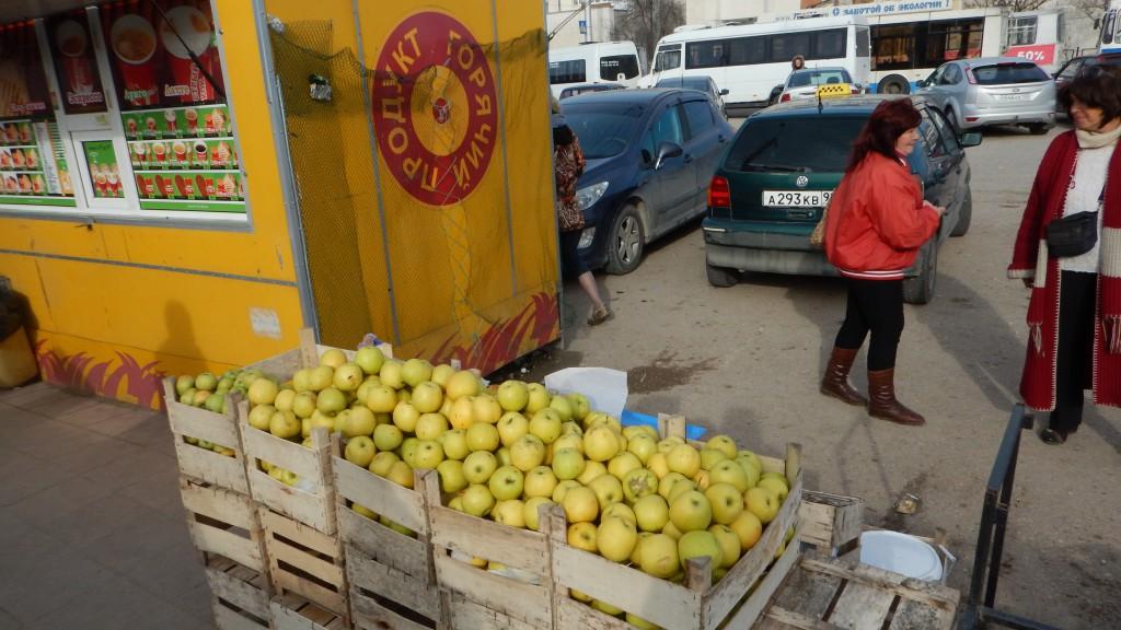 На 5-ом километре торговали сельскохозяйственной продукцией без документов