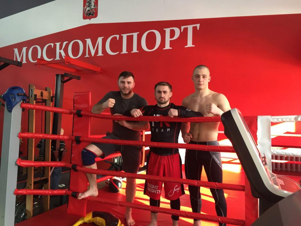 Севастопольские бойцы ММА проводят сбор в Москве