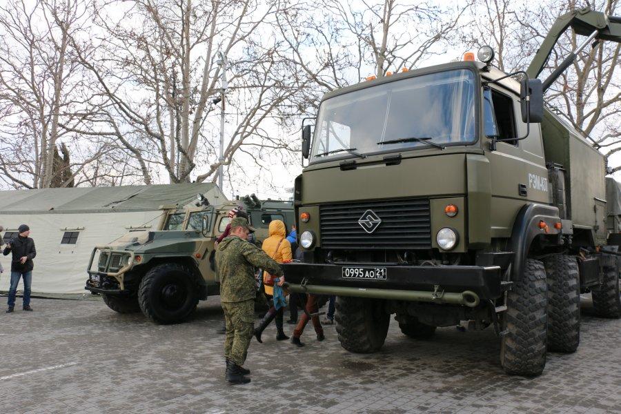 На 23 февраля в Севастополе состоится выставка современной военной техники