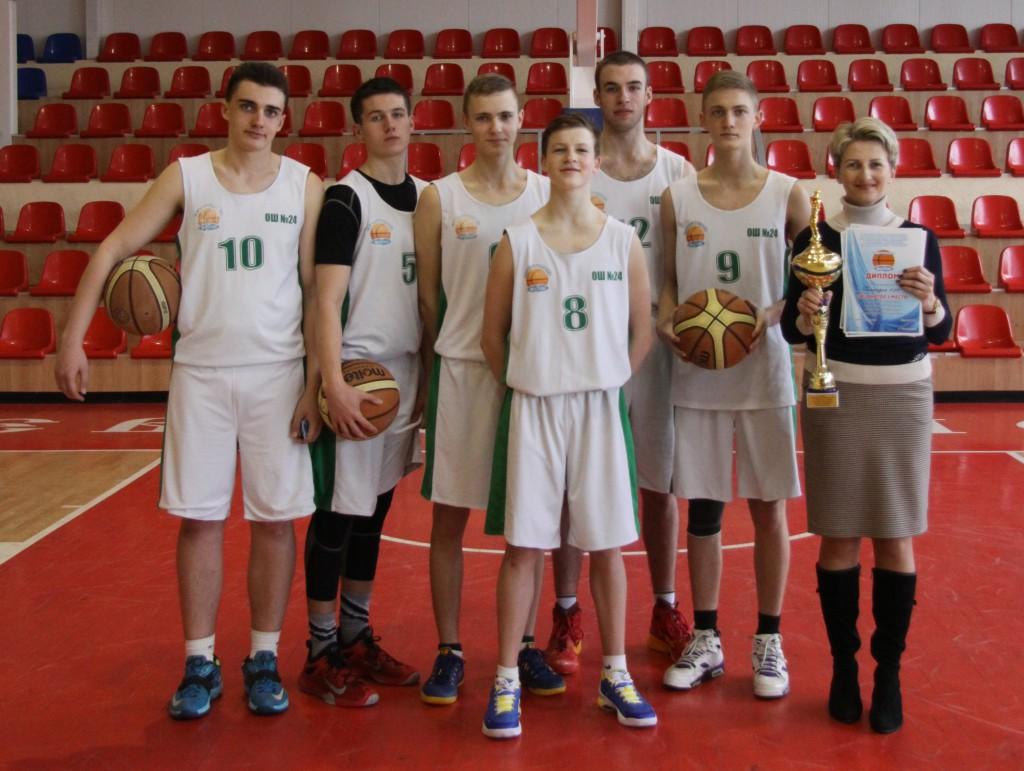 Школа №24 – чемпион Севастополя по баскетболу
