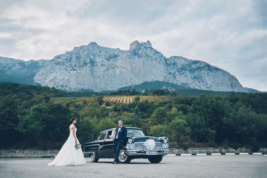 Крым – популярное направление российского свадебного туризма