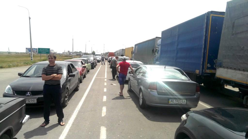 На крымской границе задержали иностранца, находящегося в федеральном розыске