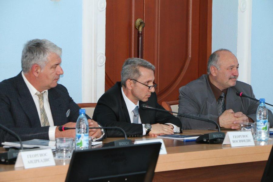 Сергей Меняйло встретился с греческими предпринимателями
