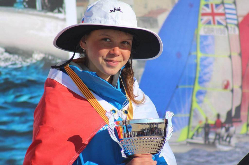 Спортсменка из Севастополя стала призеркой Чемпионата Европы по парусному спорту