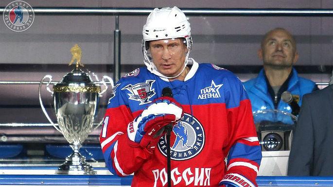 Гала-матч Ночной Хоккейной Лиги с участием Владимира Путина состоится 10 мая в Сочи