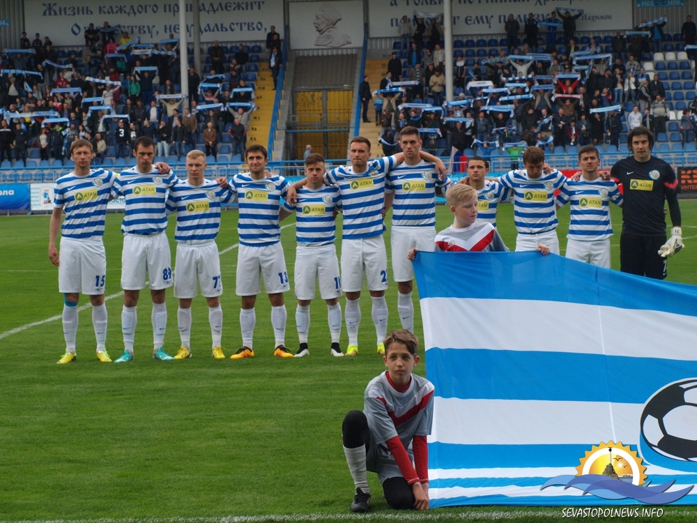 Сегодня в Севастополе пройдет ответный четвертьфинальный матч Кубка КФС