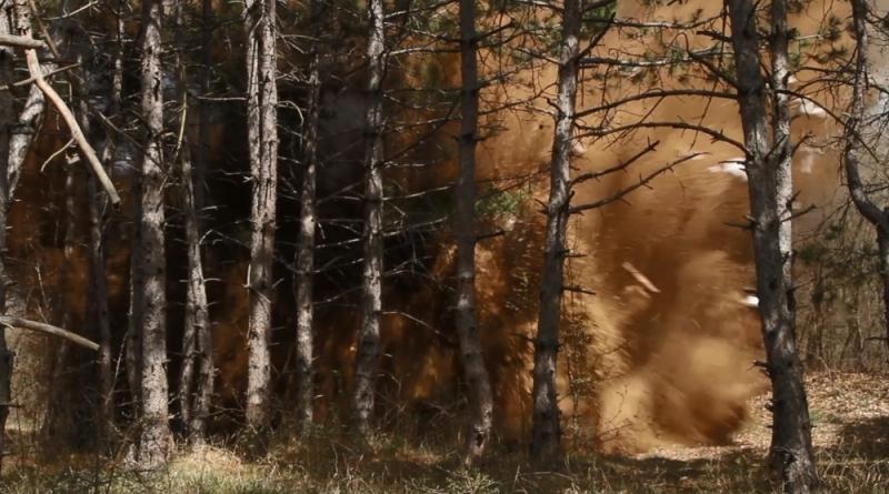 У Мекензиевых гор обезвредили две бомбы времен Великой Отечественной войны (ФОТО)