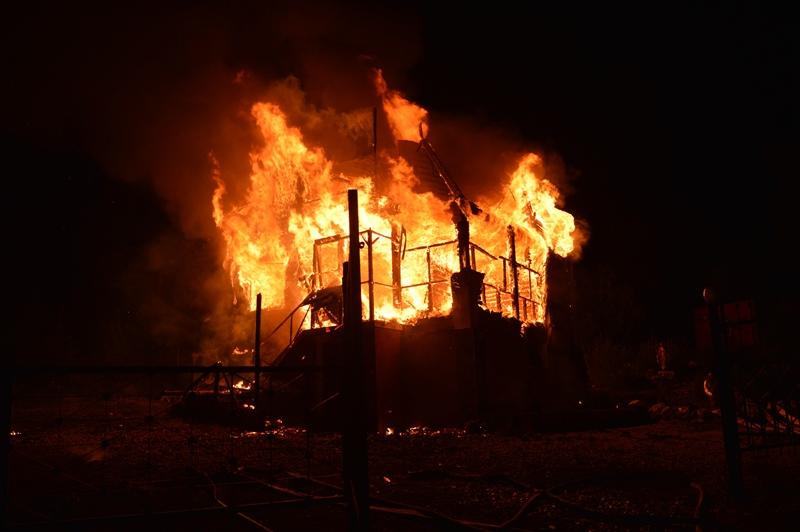 В Севастополе ликвидировали крупный пожар