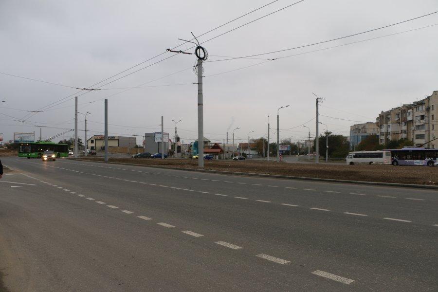 В Севастополе официально сдали дорожную развязку на 5 км
