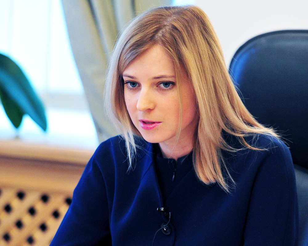 """Поклонская назвала """"беспределом"""" застройку Крыма"""