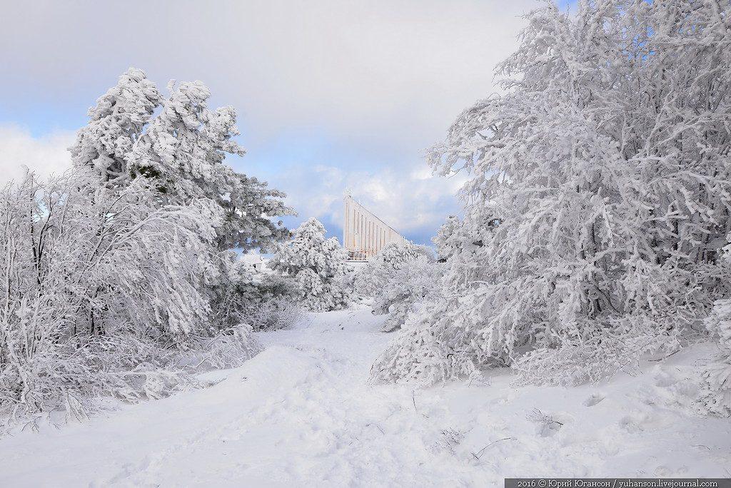 В Крымских горах ночью спасали замерзавших подростков из Старого Оскола