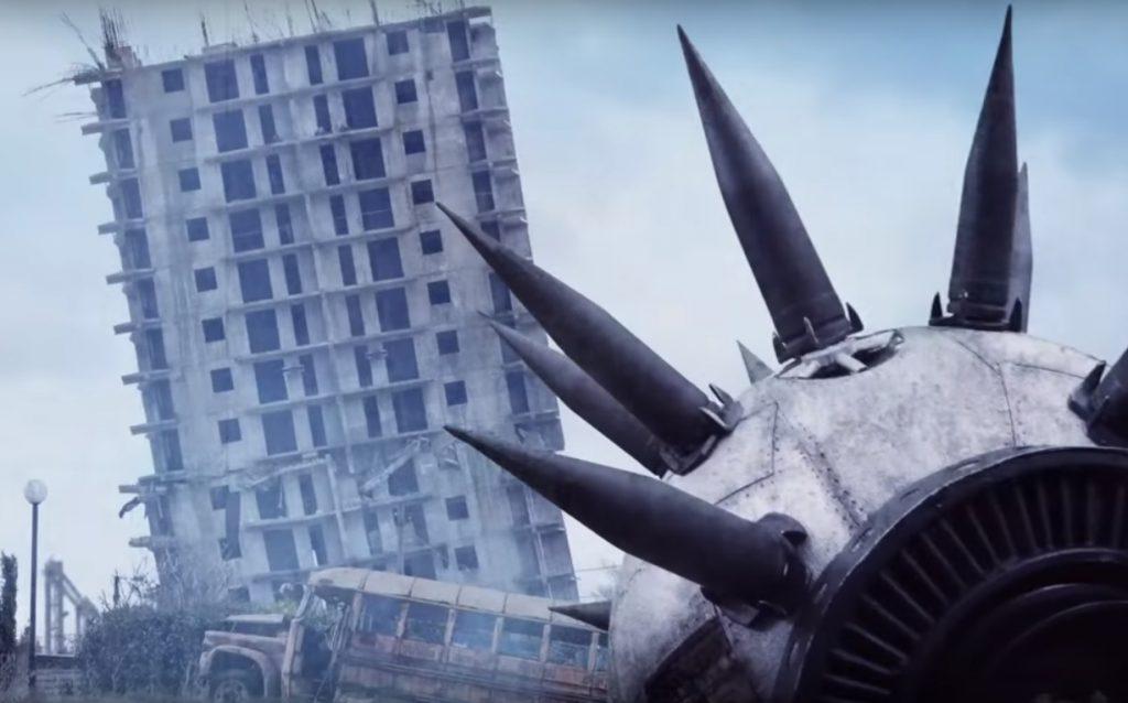 Знаменитая севастопольская пизанская башня попала в клип группы Metallica (ВИДЕО)