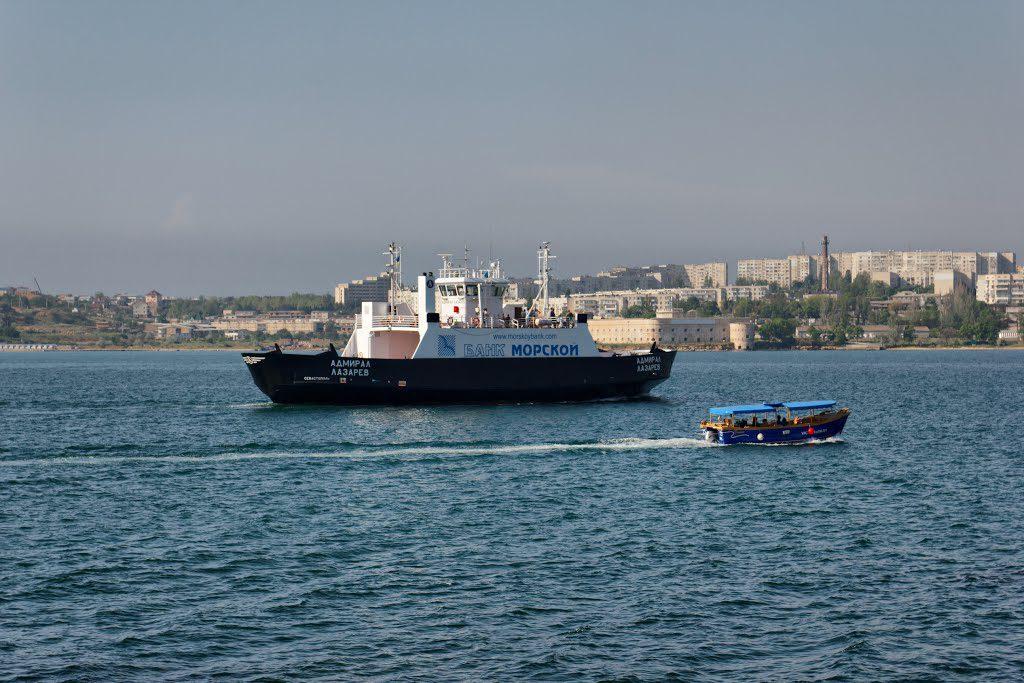 Переправа через севастопольскую бухту заработает не раньше лета