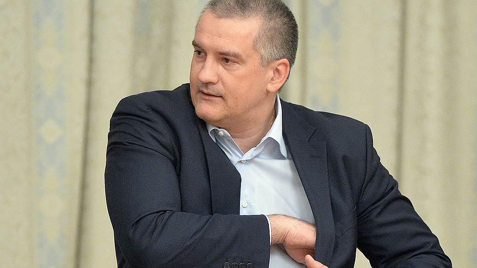 Глава Крыма увидел террористическую угрозу для крымских заводов вблизи Украины