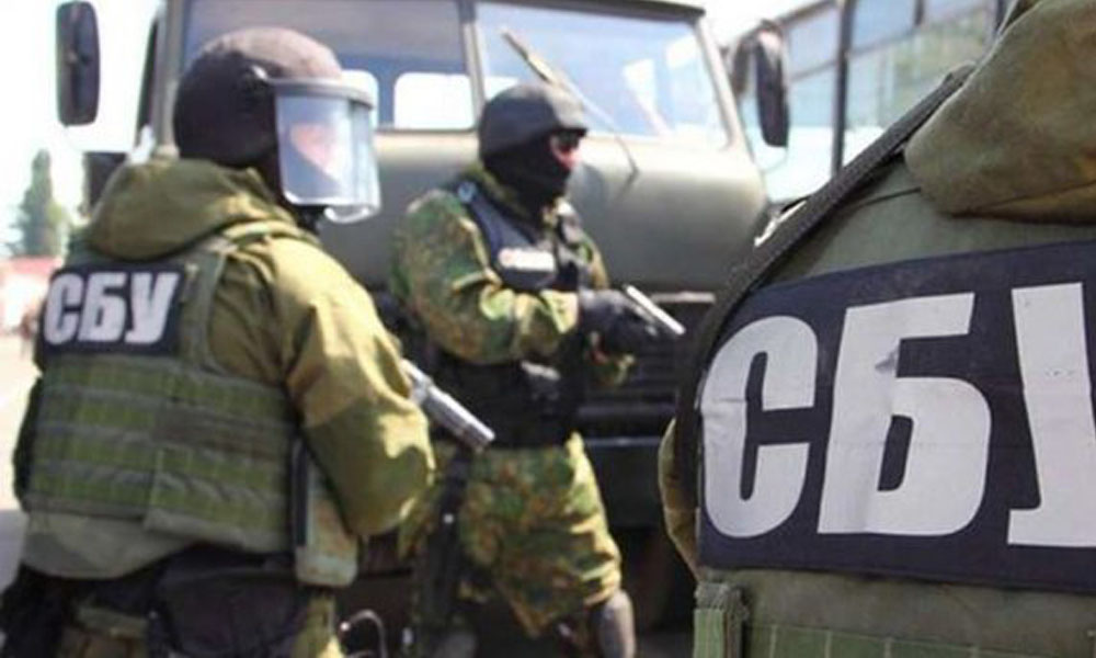 СБУ опубликовала видео задержания российских военных