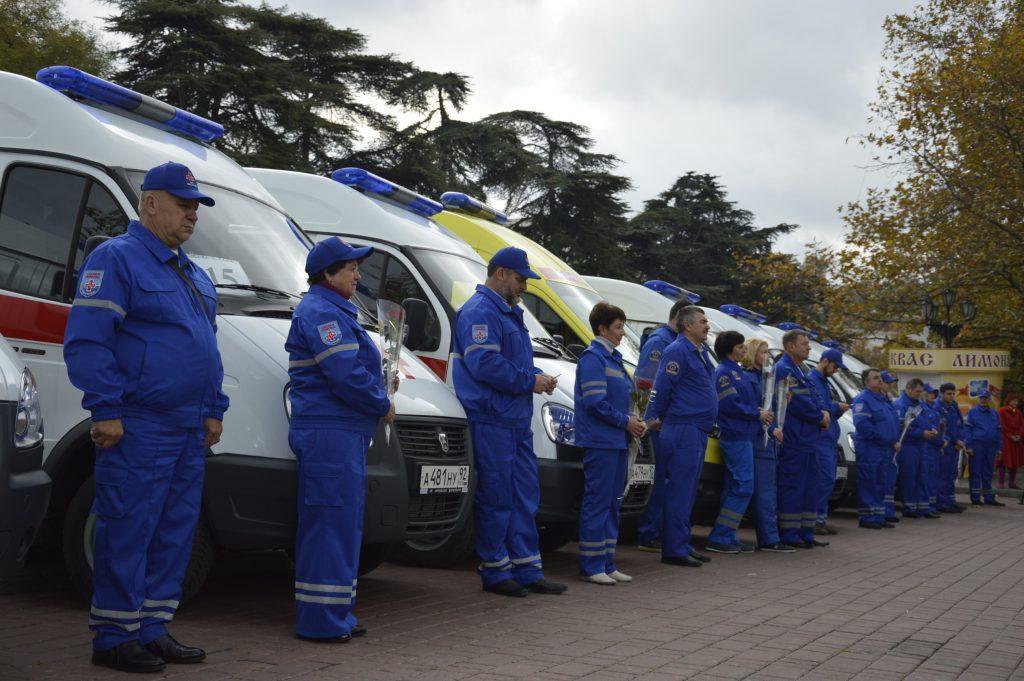 Севастополь пополнился девятью новыми автомобилями скорой помощи