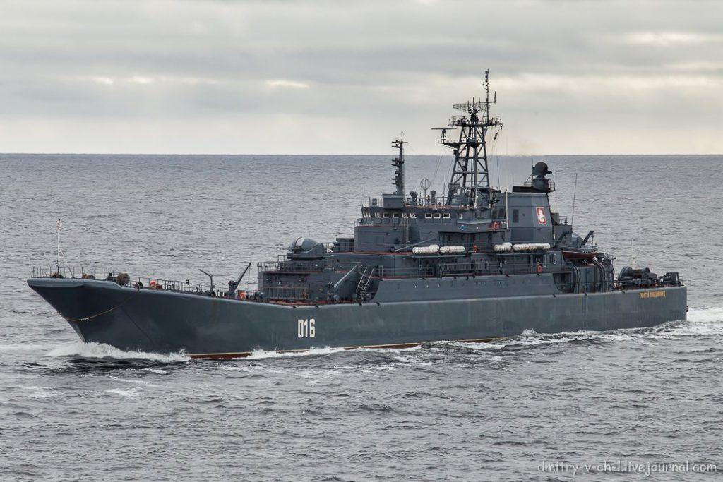 В Севастополь транзитом через Сирию прибудут корабли Северного и Балтийского флотов