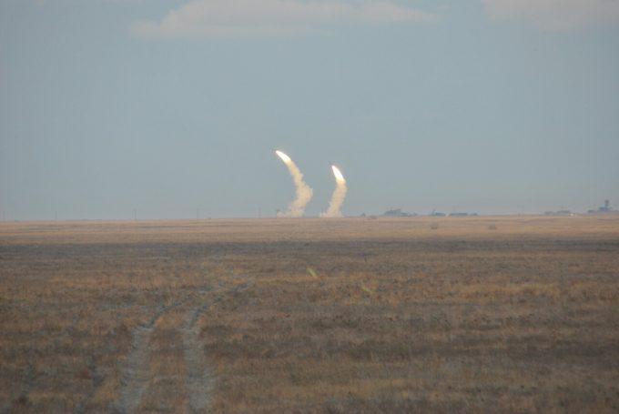 Погода помешала провести Украине второй день ракетных стрельб