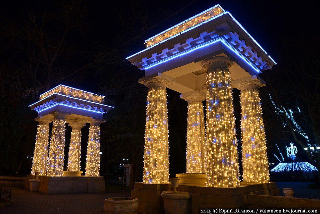 Севастопольский блогер показал, как будет выглядеть город на Новогодние праздники