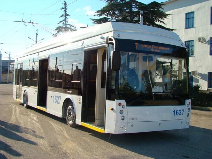 """В Севастополе представили сверхкомфортный троллейбус """"с кабиной как у пилота самолета"""" (ФОТО)"""