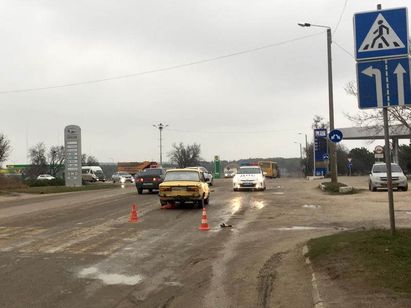 Под Севастополем автомобиль наехал 11-летнюю девочку (ФОТО)