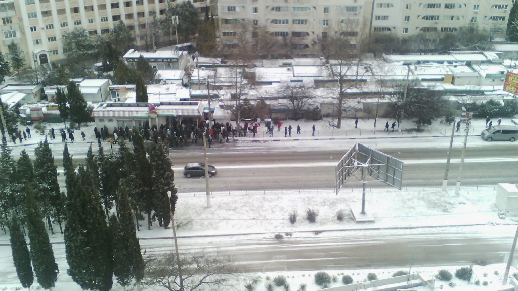 В Севастополе утром остановилось 95% общественного транспорта, - Правительство