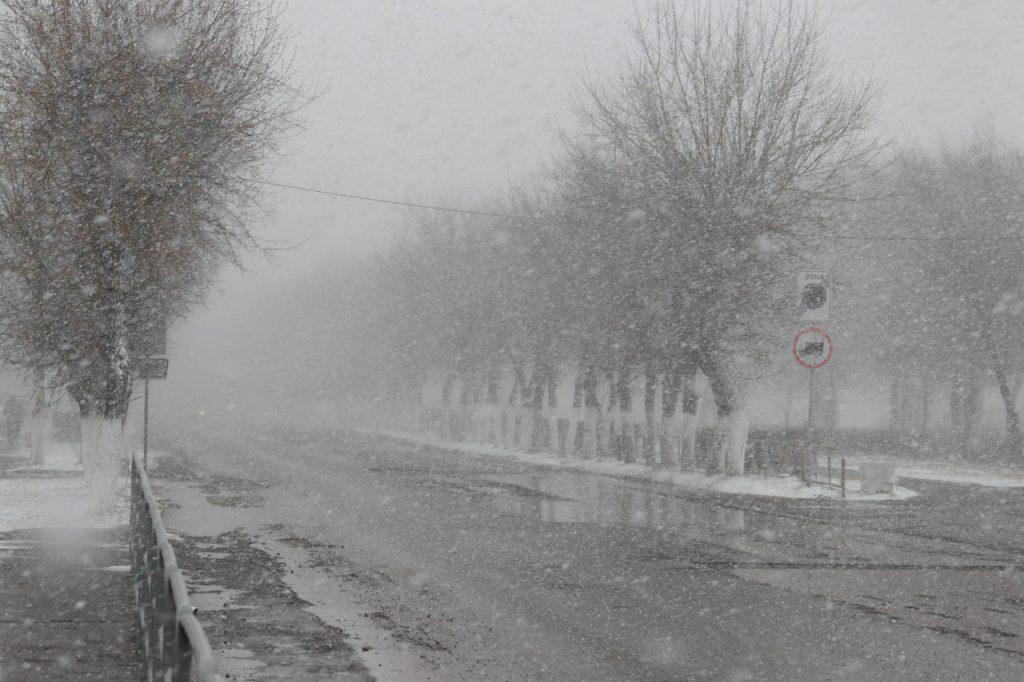 Балканский циклон принесет в Крым мощную снежную бурю