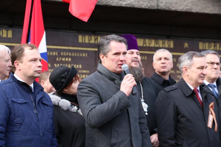 Севастопольцев поблагодарили за сплочённость во время Русской весны