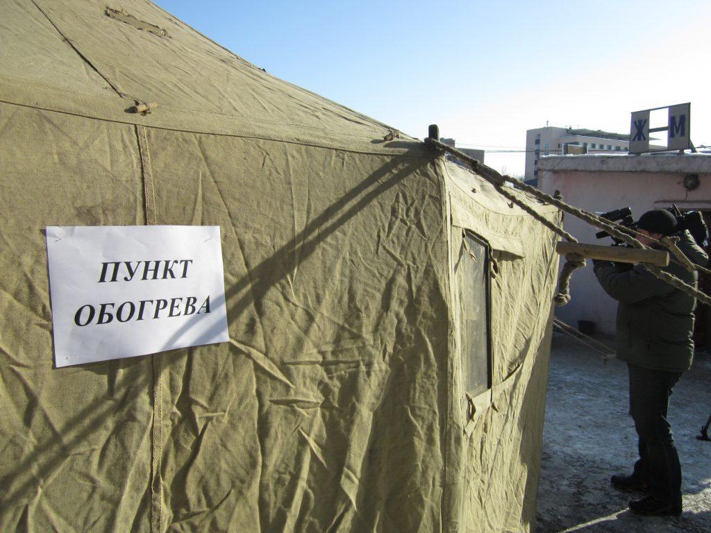 В Крыму работают 90 пунктов обогрева