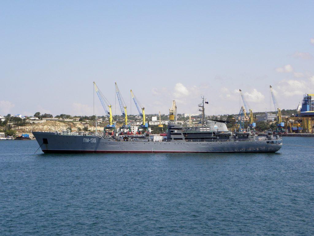 В Севастополь из Средиземного моря вернулась плавучая мастерская Черноморского флота