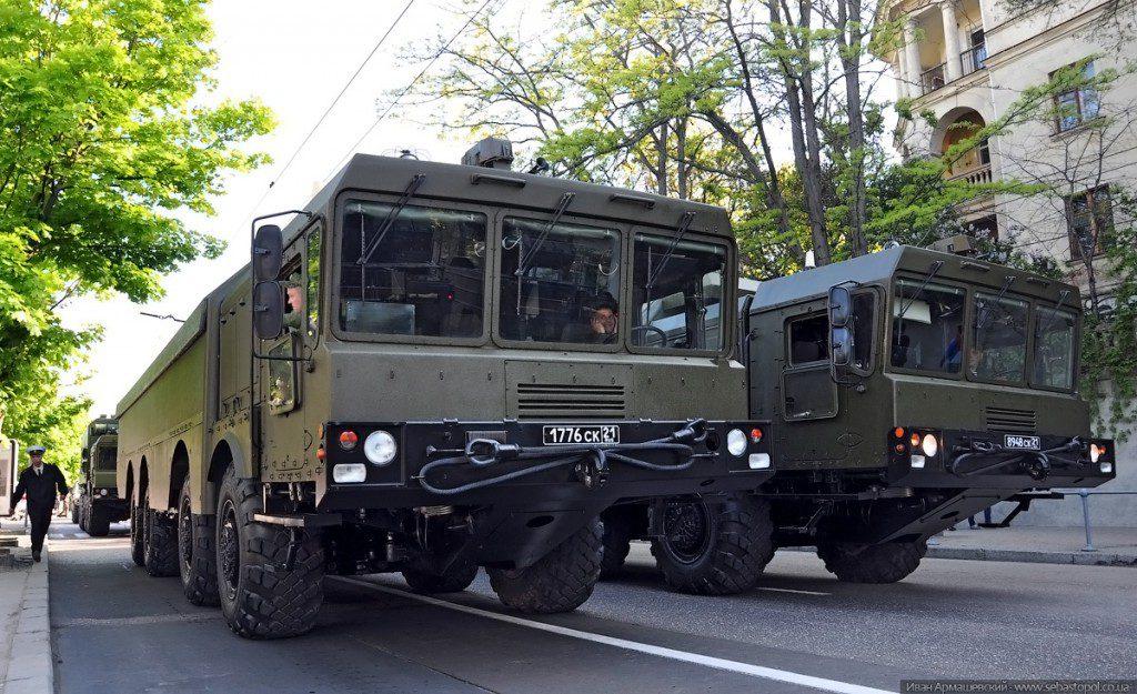 В Крыму «Бастионы» и «Балы» отрабатывают нанесение ракетных ударов