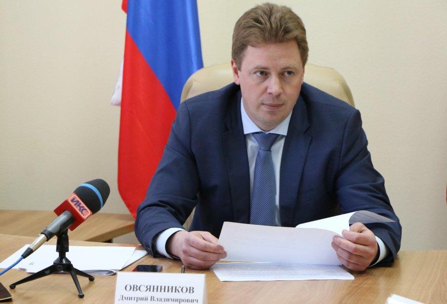 Овсянников анонсировал кадровые перестановки в правительстве