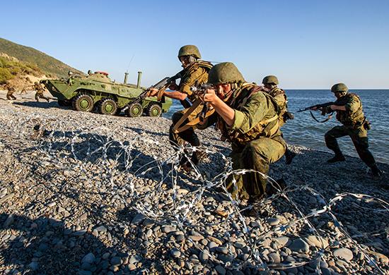 В Крыму морские пехотинцы учатся бороться с диверсантами