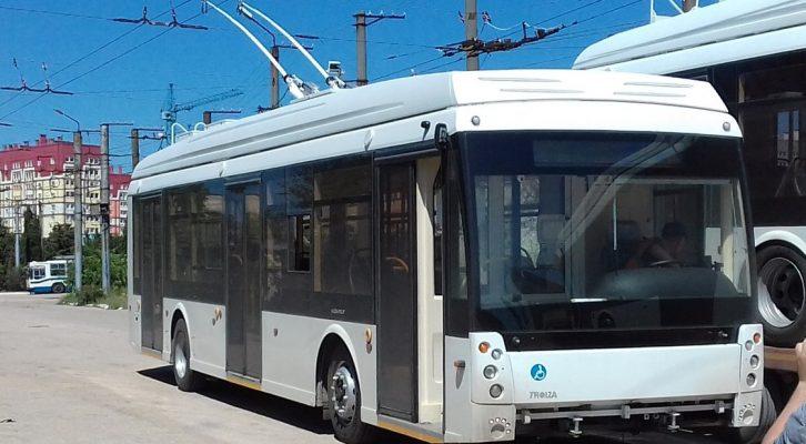 Из Севастополя в Ялту и Евпаторию хотят запустить троллейбусы