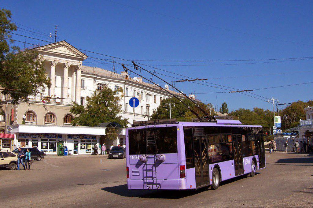 В Севастополе ограничат движение троллейбусов