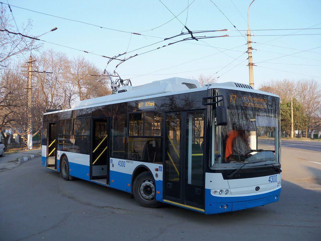 По улицам Симферополя будет курсировать «троллейбус Деда Мороза»