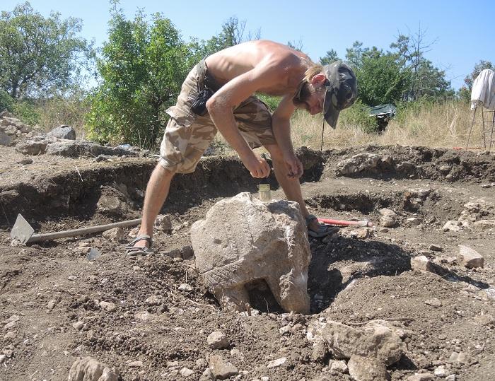 Под Севастополем нашли святилище половцев (ФОТО)
