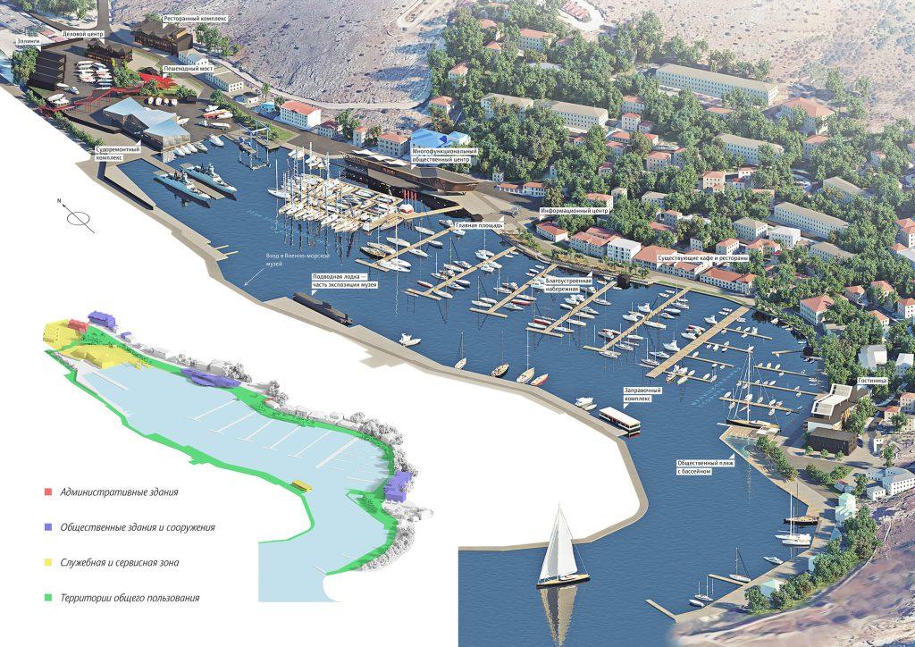 Опубликовал проект развития бухты Балаклавы (ФОТО)