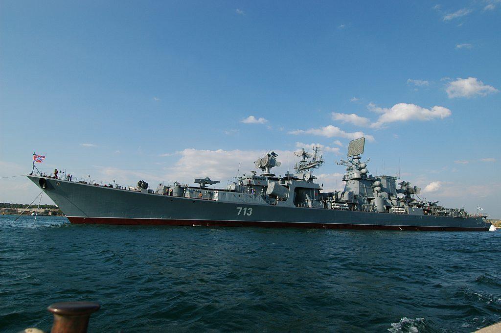"""В Севастополе большой противолодочный корабль """"Керчь"""" сделают музеем"""