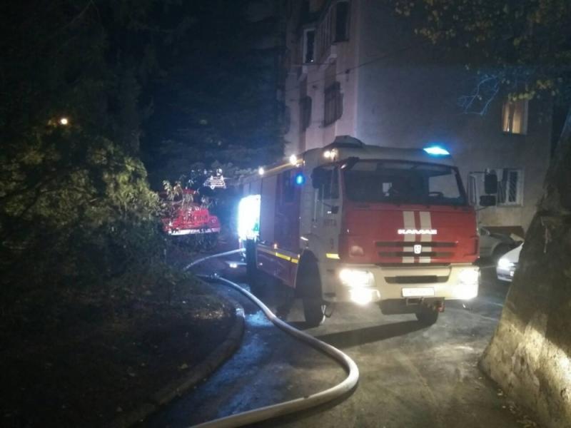 Под Симферополем на пожаре погибли два человека