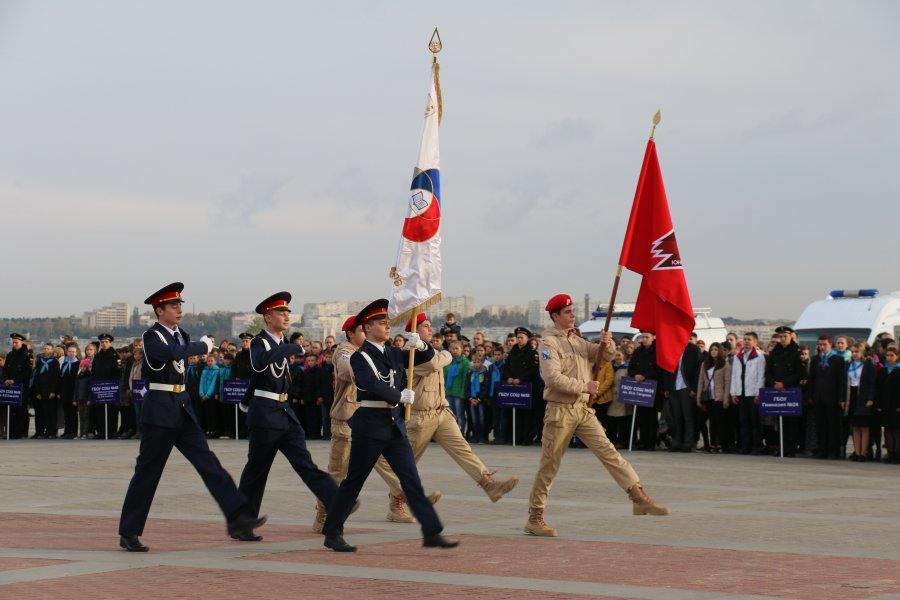 Ряды Юнармии пополнили более 1500 школьников из Севастополя