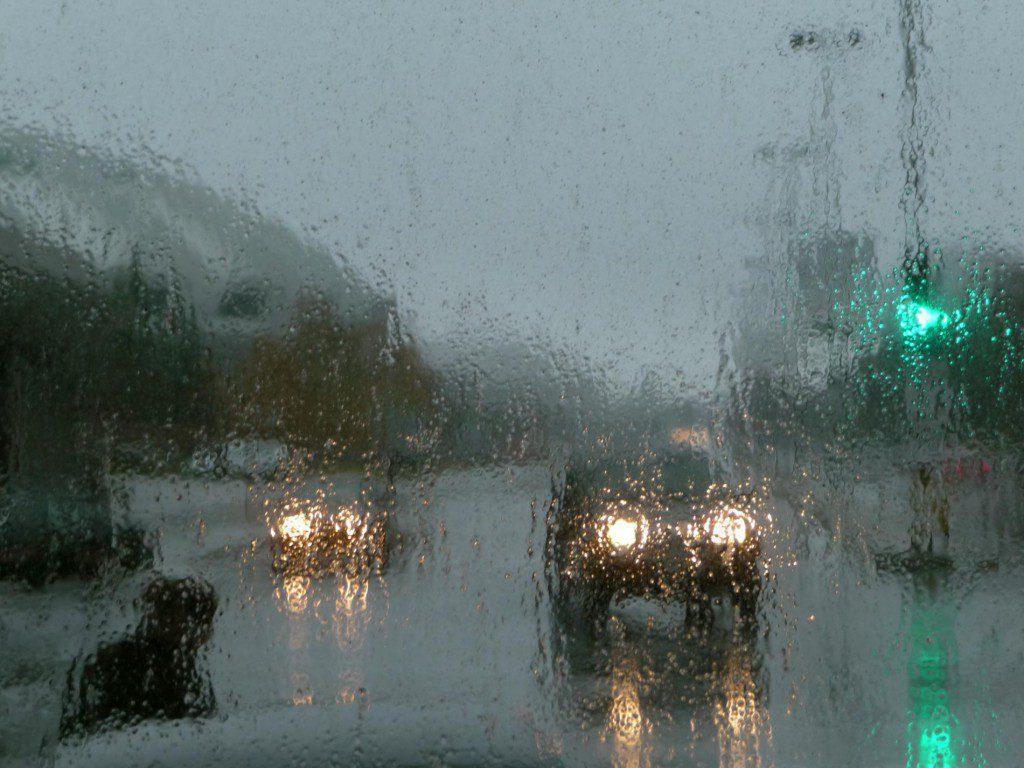 На Севастополь надвигаются январские дожди