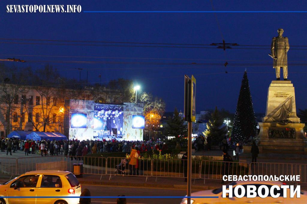На Новогодние праздники севастопольцев защитят свыше 500 сотрудников МЧС