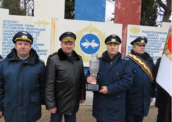 Радиотехнический полк в Крыму признан лучшим в ВКС России