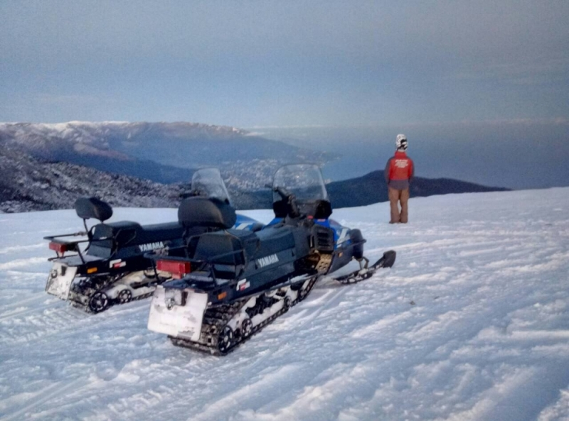 На Ангарском перевале и плато Ай-Петри организованы аварийно-спасательные посты МЧС