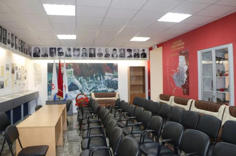 В Севастополе открыто обновленное здание Поста № 1
