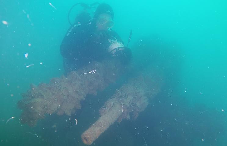 У берегов Евпатории идентифицировали потопленный в 1943 году немецкий пароход