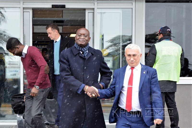В Крым прибыла делегация из Африки