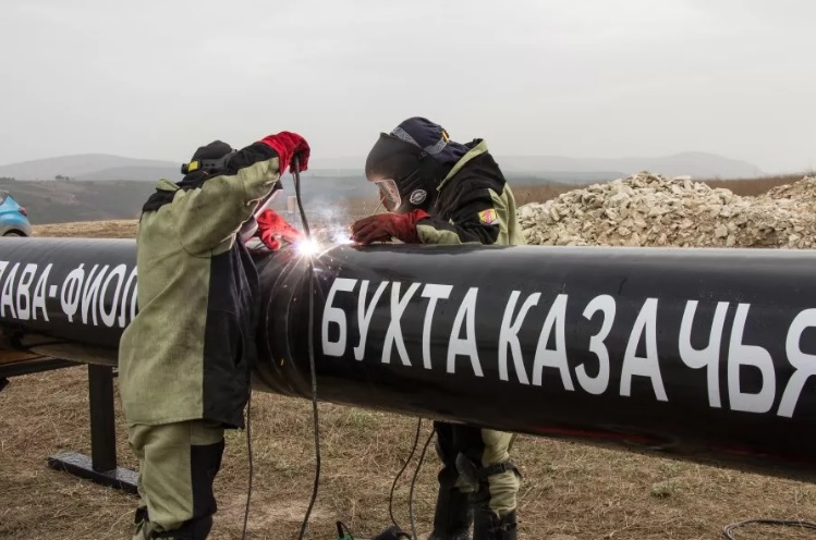 В Севастополе начато строительство газопровода
