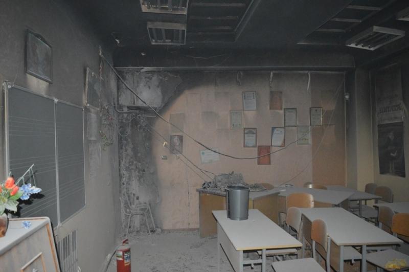 В Севастополе загорелась школа №57 (ФОТО)